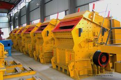 The working principle of the five parts of impact crusher